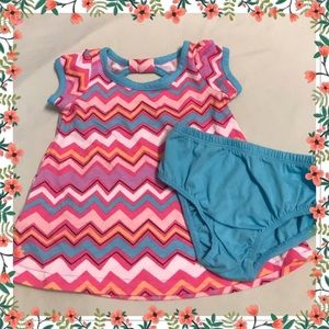 Other - 🌸Baby 0-3 Months Two Piece Chevron Outfit🌸